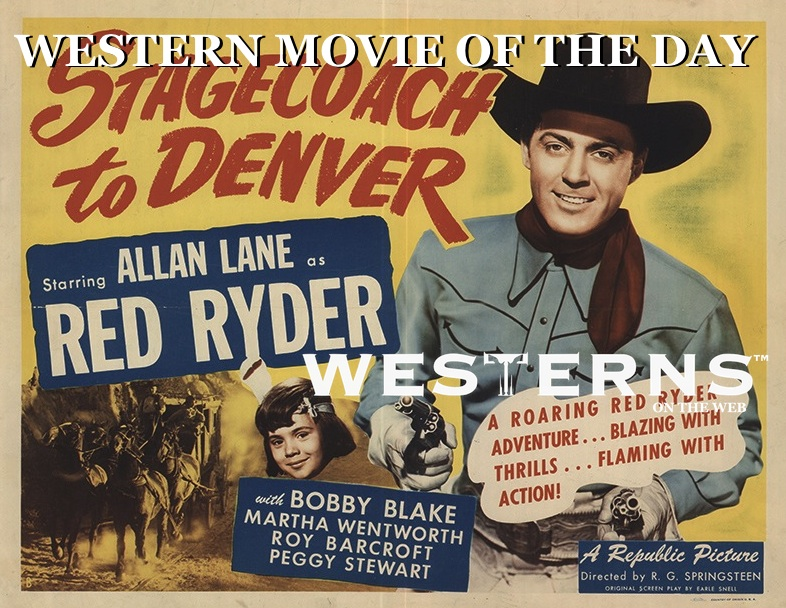 Stagecoach to Denver Red Ryder westernsontheweb